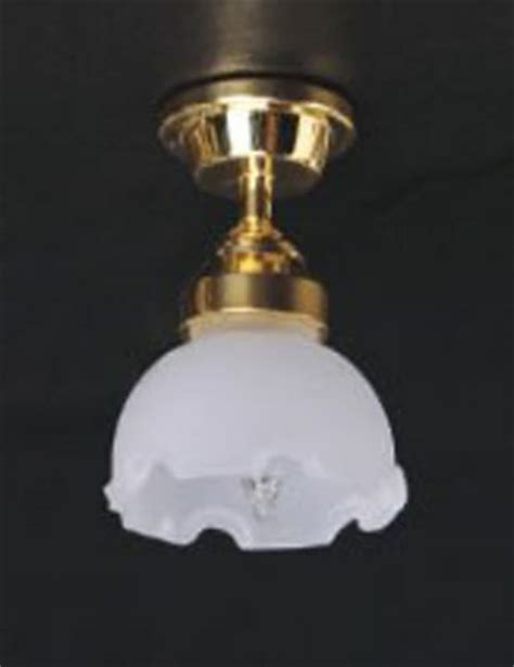 dolls house lights tumdee dolls house miniature ceiling light