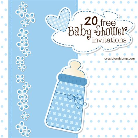 To Play At Baby Shower by 20 Free Baby Shower Invites Crystalandcomp