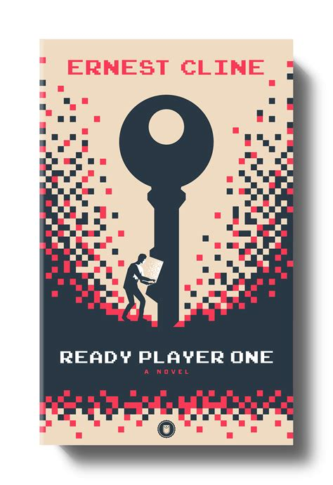 ready player one tie in a novel books ready player one book cover on behance