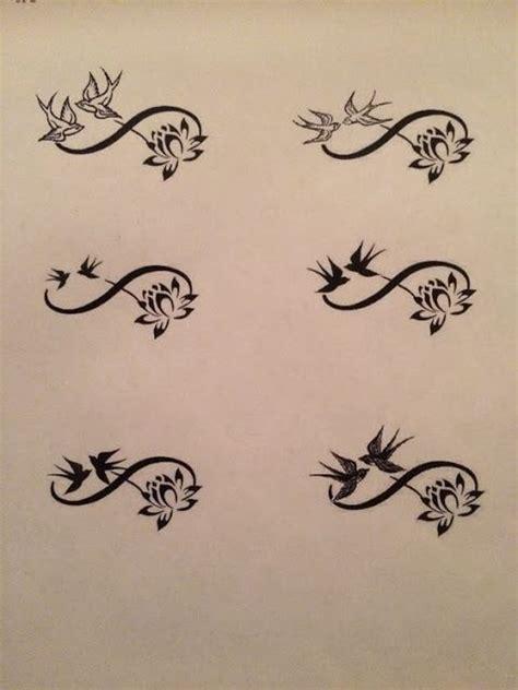 tattoos infinity design best 20 infinity tattoos ideas on infinity