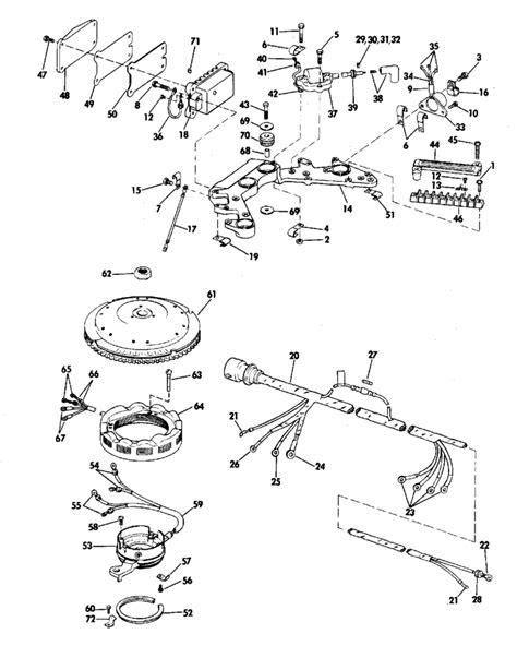 evinrude etec parts diagram i a evenrude 115 hp 1977 serial 3 115793s it start