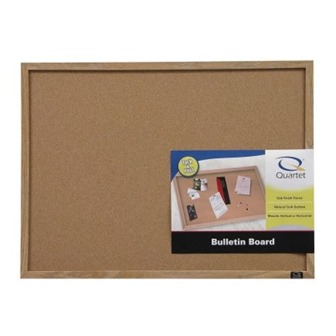 quartet 174 cork bulletin board bulletin erase boards ace hardware