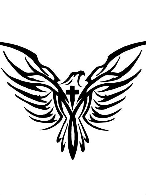 eagle tattoo deviantart eagle cross tattoo by exelar xlr on deviantart