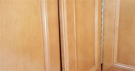 how to fix cabinet door panel warped cabinet doors hometalk