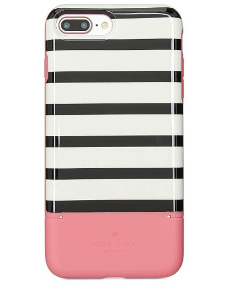 kate spade new york striped credit card iphone 8 plus handbags accessories macy s