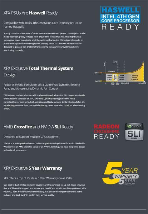 Xfx Xts Series 1000w Modular 80 Platinum Made By Seasonic P1 xfx xts series platinum 1000w modular power supply p1 1000 belx pc gear