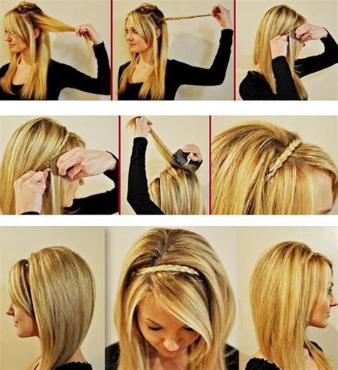 step by step womens hair cuts butterfly ponytail hairstyles the undone bun hairstyle