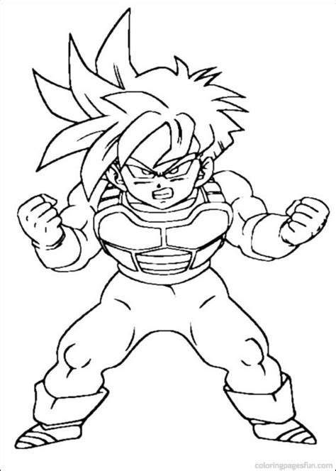 online coloring pages dragon ball z dragon ball z coloring pages 1 coloringpagehub
