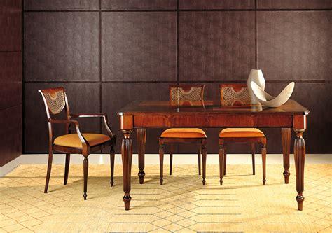 sedie stile inglese tavolo e sedie diana esposizione artigiani medesi meda