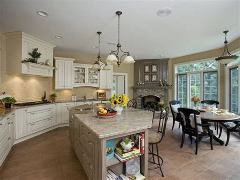 spacious kitchen with sophistication orren pickell building hgtv
