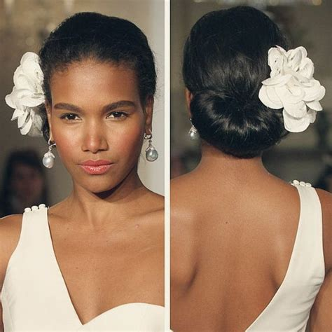 wedding hair buns for black women 15 awesome wedding hairstyles for black women pretty designs