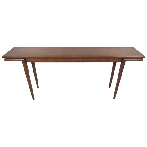 Mid Century Modern American Walnut Console Table At 1stdibs Mid Century Modern Sofa Table