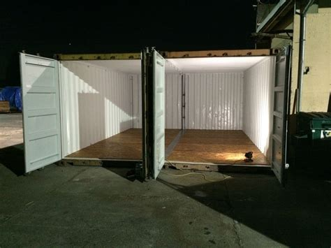 building  woodshop   shipping containers shipping
