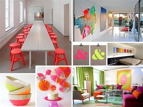 design idea more neon interior design ideas for a radiant home