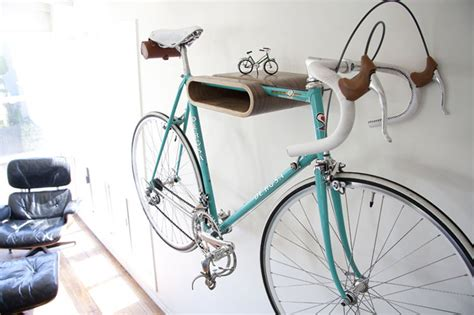 Bike Wall Shelf by Bike Storage Ideas 30 Creative Ways Of Storing Bike