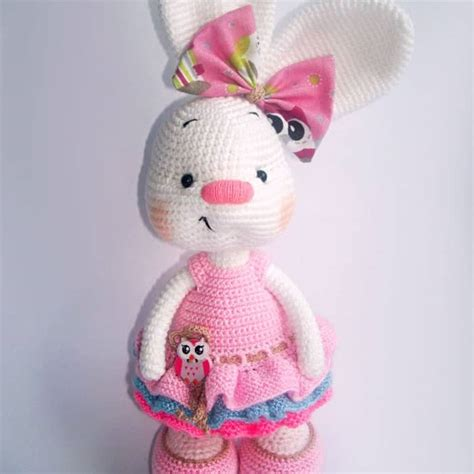 amigurumi pattern free bunny pretty bunny amigurumi in dress amigurumi today patterns