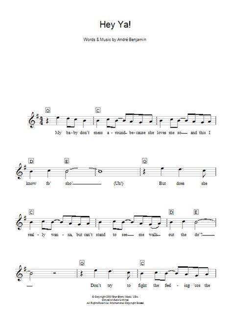 ukulele tutorial hey ya hey ya sheet music direct