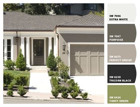 211 best exterior paint colors images on curb appeal carriage house garage doors