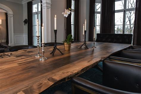 Live Edge Dining Table Design Decor Photos Pictures Live Edge Dining Room Table