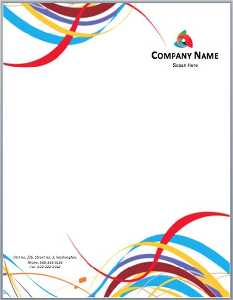 word stationery templates free letterhead templates microsoft word templates