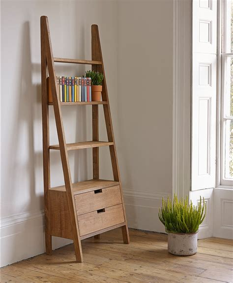 Ladder Bookcase With Drawers 12 Awesome Ideas Of Bookshelves Diy Bookshelvesdesign