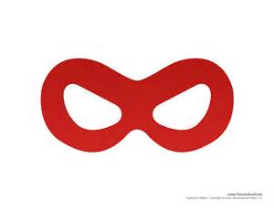 printable superhero mask templates superhero