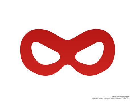 printable superhero mask templates for a superhero