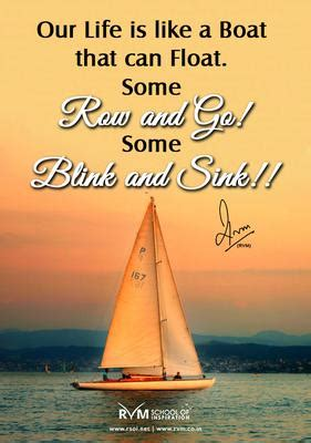 row the boat saying inspirational quotes about boating quotesgram