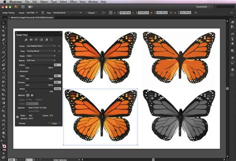 adobe illustrator cs6 live trace first look adobe illustrator cs6 creativepro com