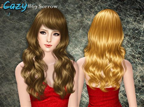 sims 3 cheats for hairstyles cazy s sorrow hairstyle female set