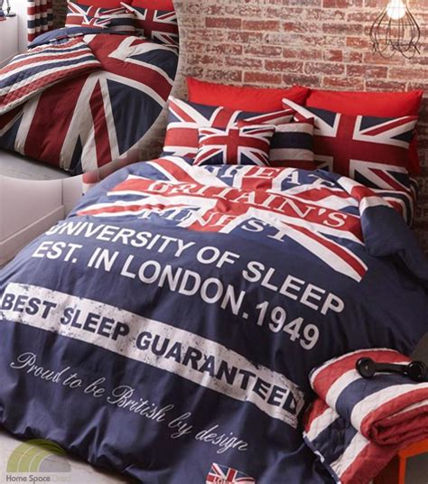 union jack bedding union jack blue quilt duvet covers p case bed sets 3
