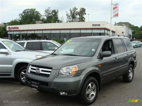 nimbus gray metallic honda pilot  wd  gtcarlotcom car color galleries