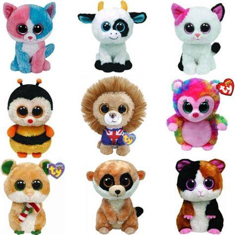 Christmas Gifts Ty Ty Beanie Boos Big Eyes Plush Toy Doll