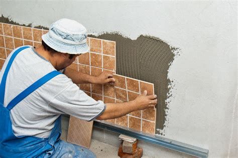 Installing Ceramic Floor Tile How To Install Wall Tile Howtospecialist How To Build Step By Step Diy Plans