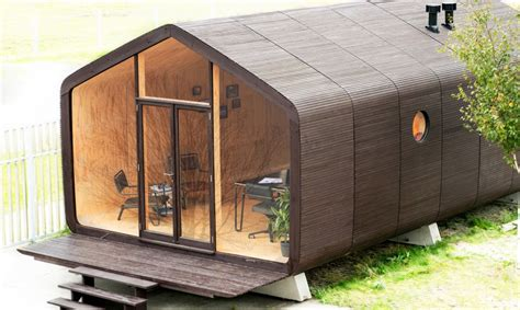 Cost To Build Tiny House wikkelhouse modulares haus aus pappe l 228 sst sich in einem