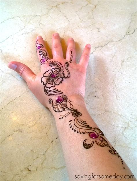 disney and henna art