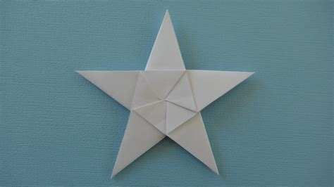 Five Pointed Origami - how to fold origami 5 pointed