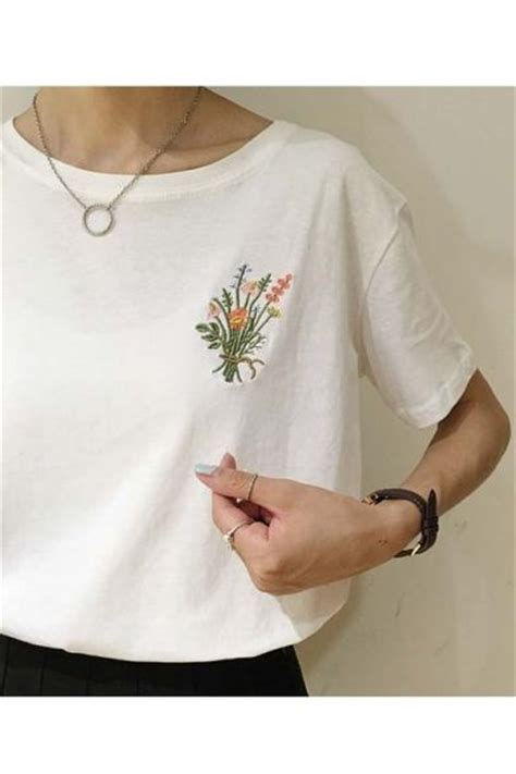 Sleeve Embroidery Shirt 17 best ideas about embroidered t shirts on
