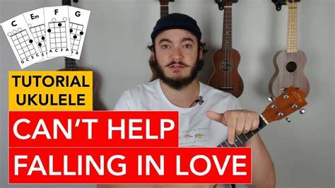 ukulele tutorial can t help falling in love can t help falling in love twenty one pilots ukulele