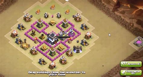 coc layout war base th5 th5 to th11 farm trophy war base layouts for 2016