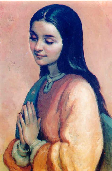 imagen de la virgen maria miguel sanchez esta de juana de arco previa a su canonizaci 243 n santa