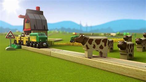 brio farm train brio world product range 2012 youtube
