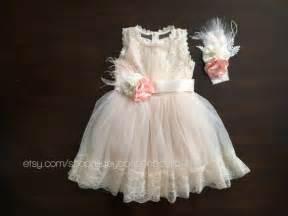 Wedding baptism dress christening dress champagne baby girl dress
