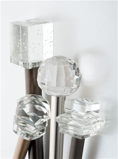 crystal drapery finials crystal finials for curtain rods windowtreatments