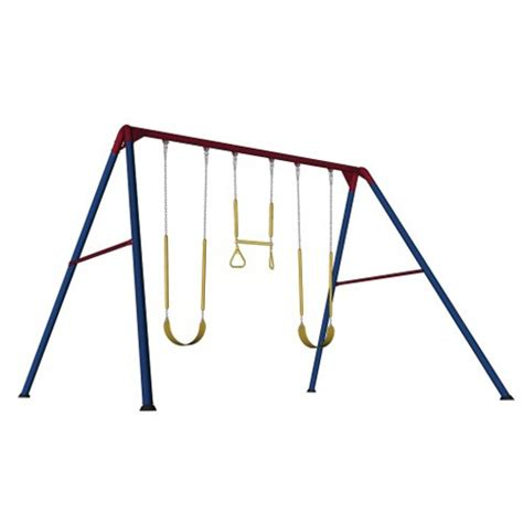 lifetime 10 swing set lifetime 10 foot swing set primary colors