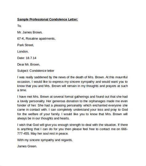 professional business letters 10 professional letters format to sle templates