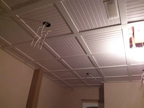 Ceiling Tile Board Embassy Suspended Ceiling With Beadboard Ceiling Tiles 9