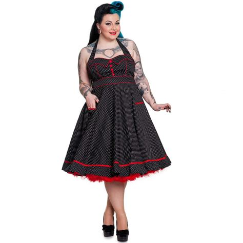 Vanity Wear by Hell Bunny Vanity Dress Canuck Plus Size