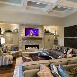 cozy family room cozy greatroom traditional family room portland by