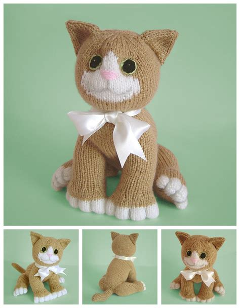 how to knit a kitten clare scope farrell novelty knitting patterns news let